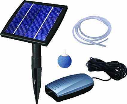 Air Pump Solar Kit from Beckett Corporation