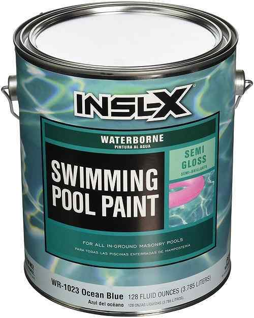 Insl X Products Wr  Gallon Blue Water Pool Paint