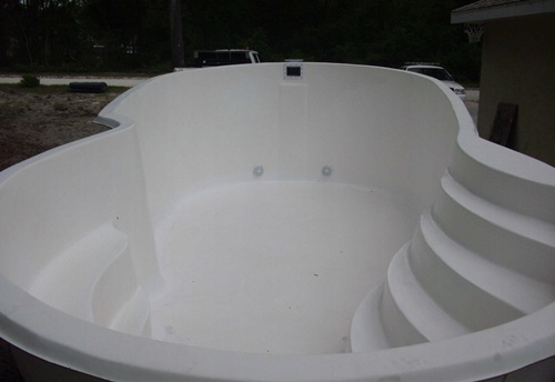 Fiberglass In-ground Swimming Pool