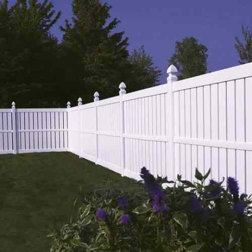 Recommended vinyl fence company with price