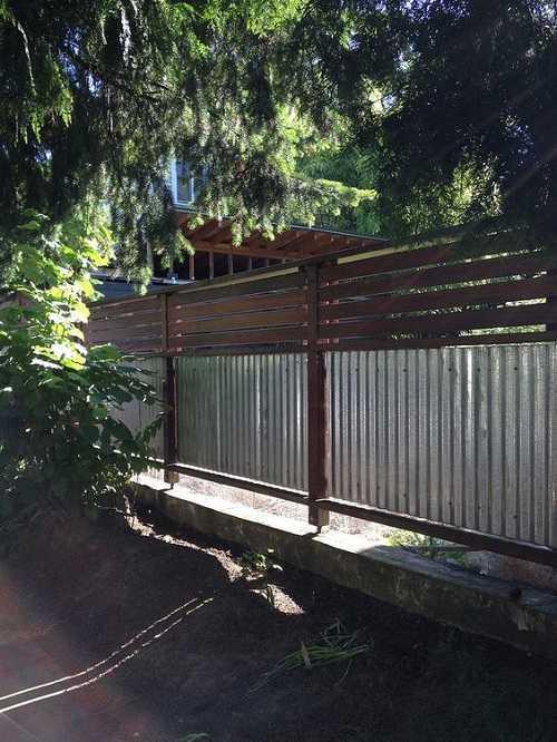Cedar Fencing 9