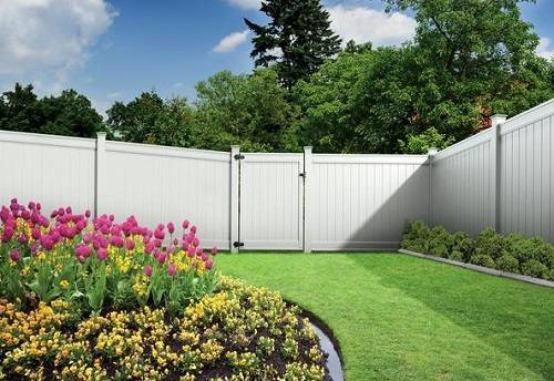 Emblem White Privacy Vinyl Fence Freedom Fence Review