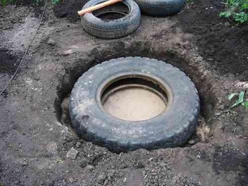 pond tire 1
