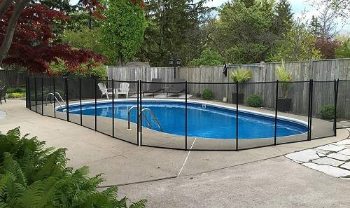 pool safety fence prices