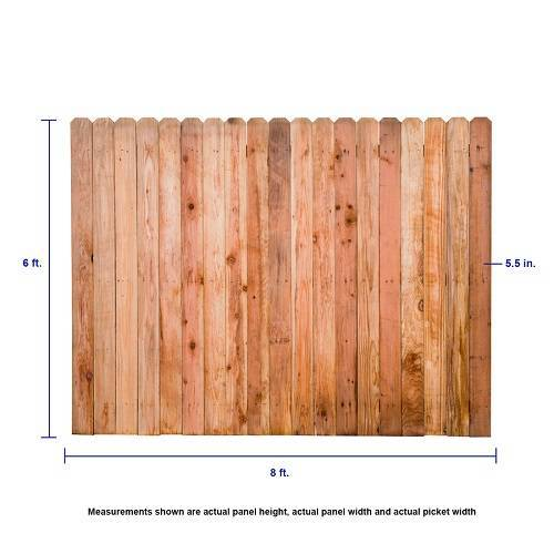 redwood fence lowes