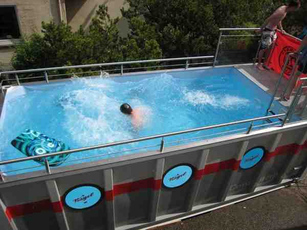 How to build shipping container swimming pool - Seecontainer pool ...