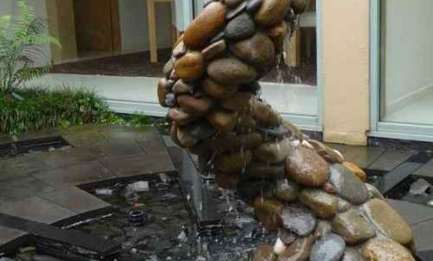 rock fountain ideas feature