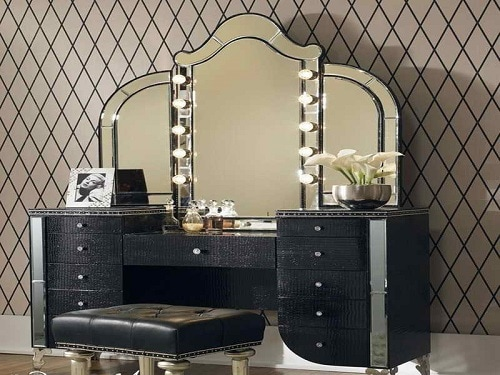 vanity mirror with light for bedroom