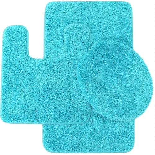 5 Cheapest 3 Piece Bathroom Rug Sets Under 20