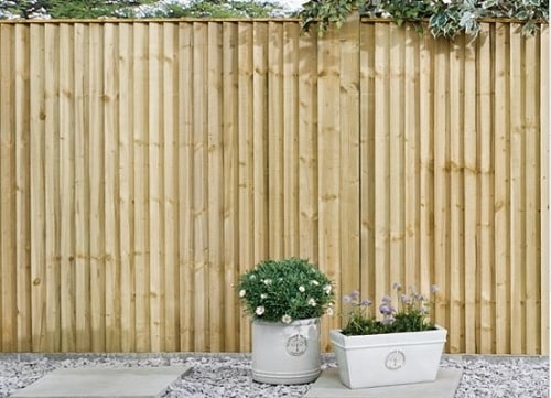 wood fence parts