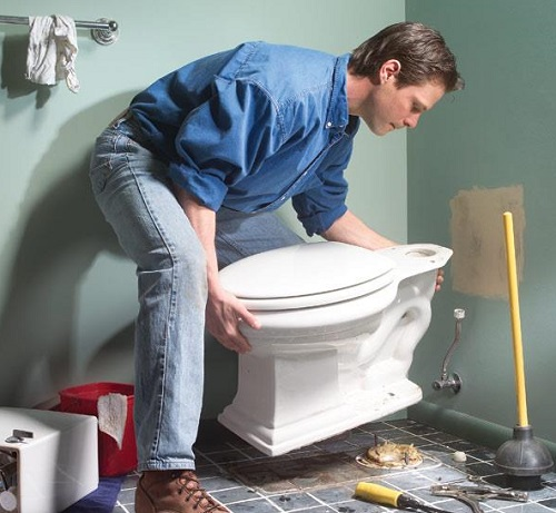 Water Leaking From Ceiling Under Bathroom Causes Effect