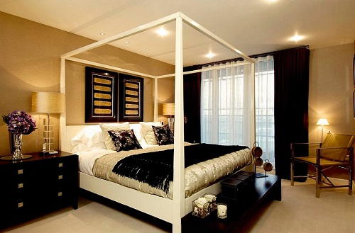 black gold bedroom decorating ideas