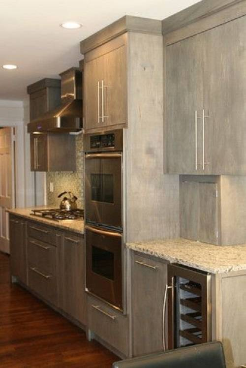 Grey Wash Kitchen Cabinets 10