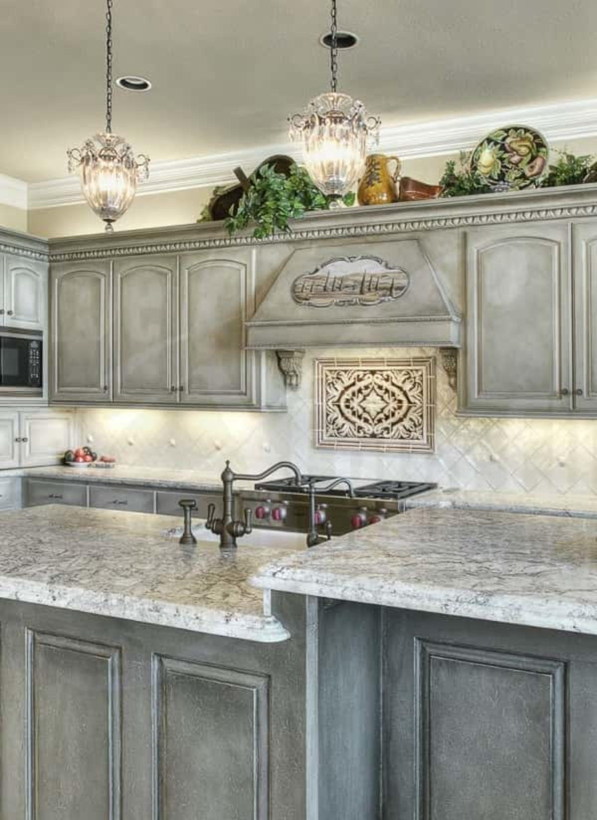 15 Gorgeous Grey Wash Kitchen Cabinets Designs Ideas