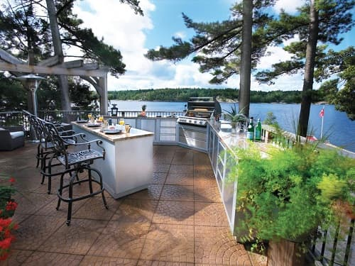 Images of Outdoor Kitchen Featured