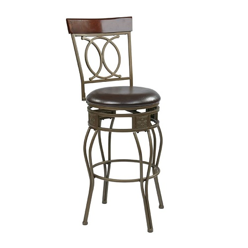 Kitchen Island Stools With Backs 10