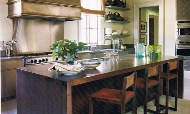 Kitchen Island Stools With Back Feature