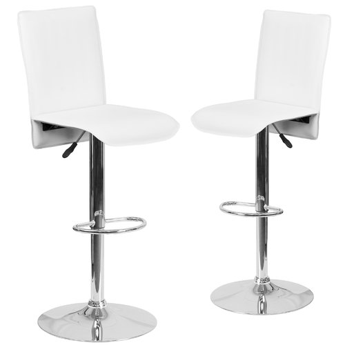 Midback Flash Furniture Adjustable Height Swivel Bar Stool