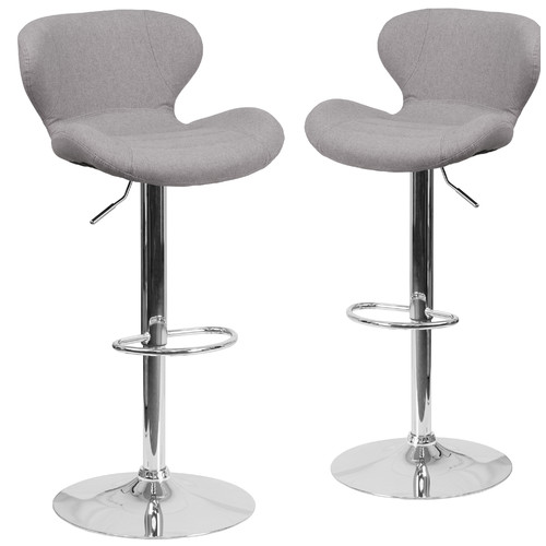 Simple Flash Furniture Adjustable Height Swivel Bar Stool