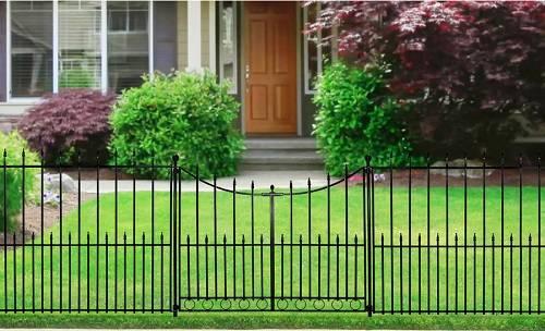 aluminum fence gate