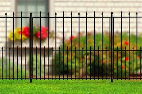 aluminum picket fence