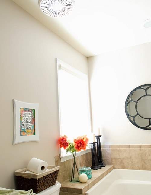 bluetooth bathroom fan