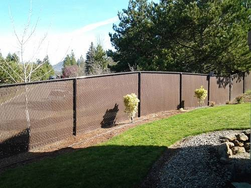 chainlink slatted quality fence co