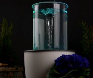 diy vortex fountain