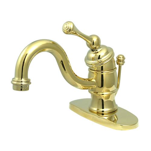 unlacquered brass bathroom faucet