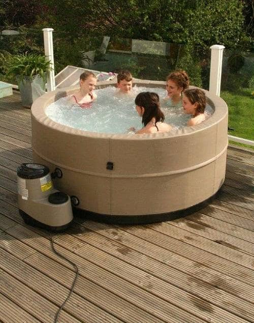 inflatable hot tub ideas 12