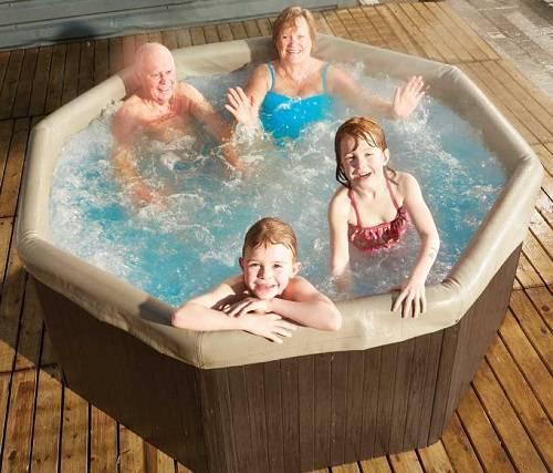inflatable hot tub ideas 13