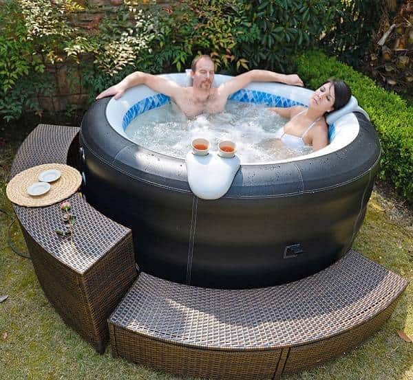 inflatable hot tub ideas