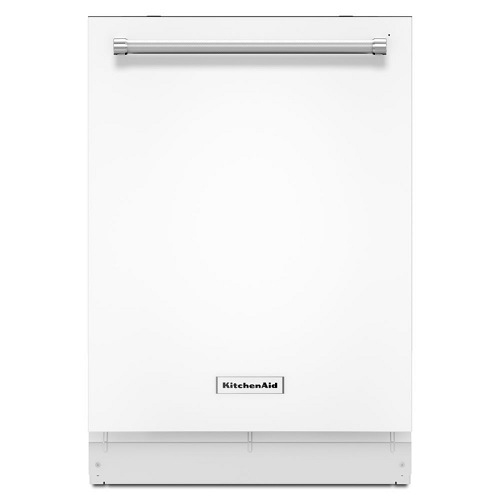 White Stainless Steel 46 DBa Dishwasher