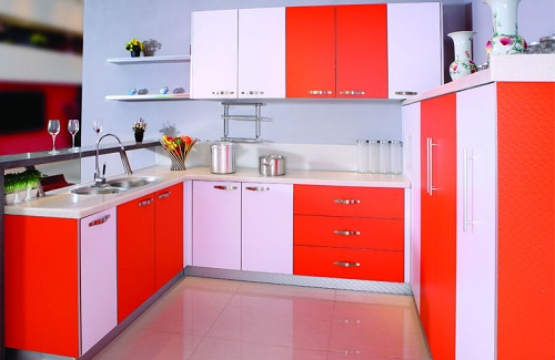 Kitchen Cabinets Color Combination 1