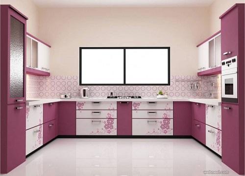 Kitchen Cabinets Color Combination 10