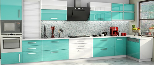 kitchen cabinets color combination 13