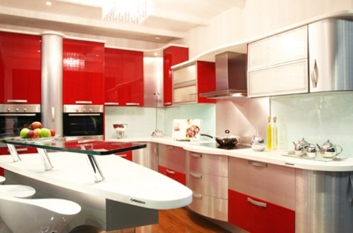 kitchen cabinets color combination 14