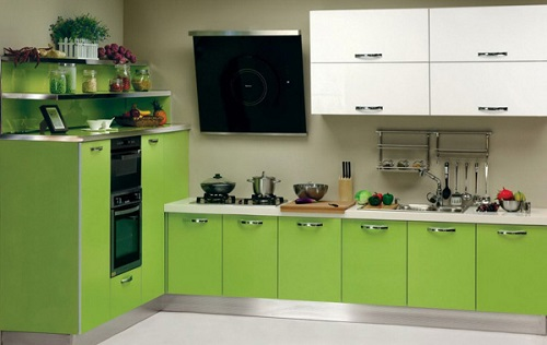 kitchen cabinets color combination 3