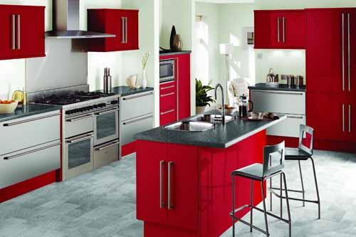 kitchen cabinets color combination 4