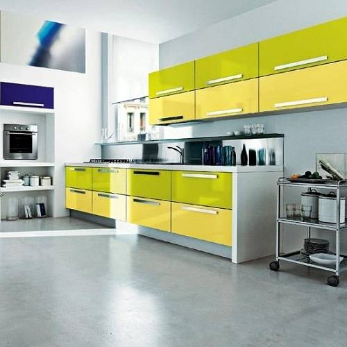 kitchen cabinets color combination 5