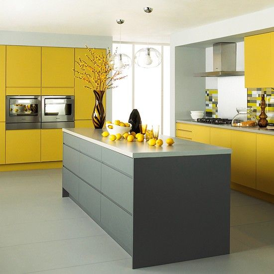 kitchen cabinets color combination 7