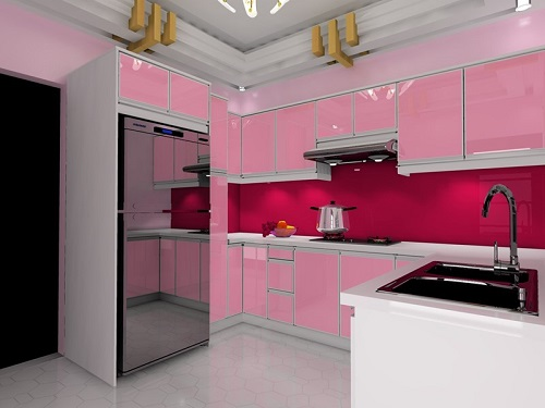 kitchen cabinets color combination 8