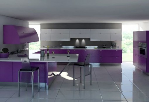 kitchen cabinets color combination 9
