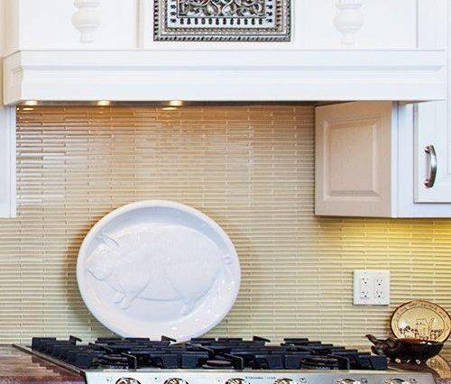 kitchen hood insert feature