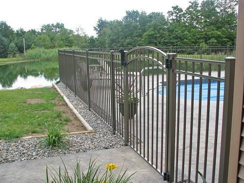 ornamental aluminum fence 12