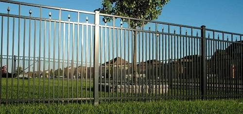 ornamental aluminum fence 13