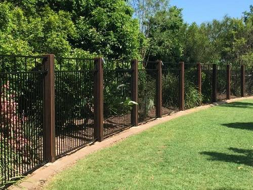 ornamental aluminum fence 4