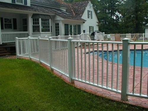 ornamental aluminum fence 5
