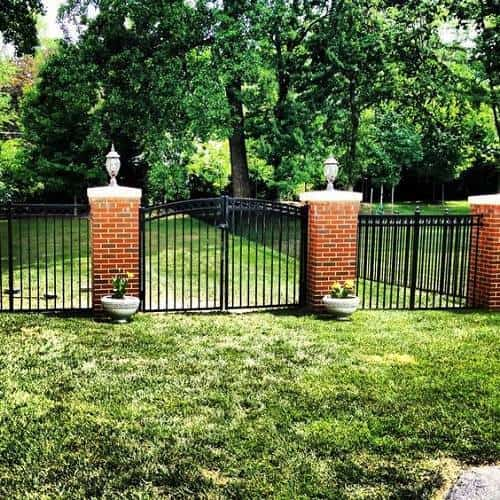 ornamental aluminum fence 6
