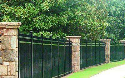 ornamental aluminum fence 7
